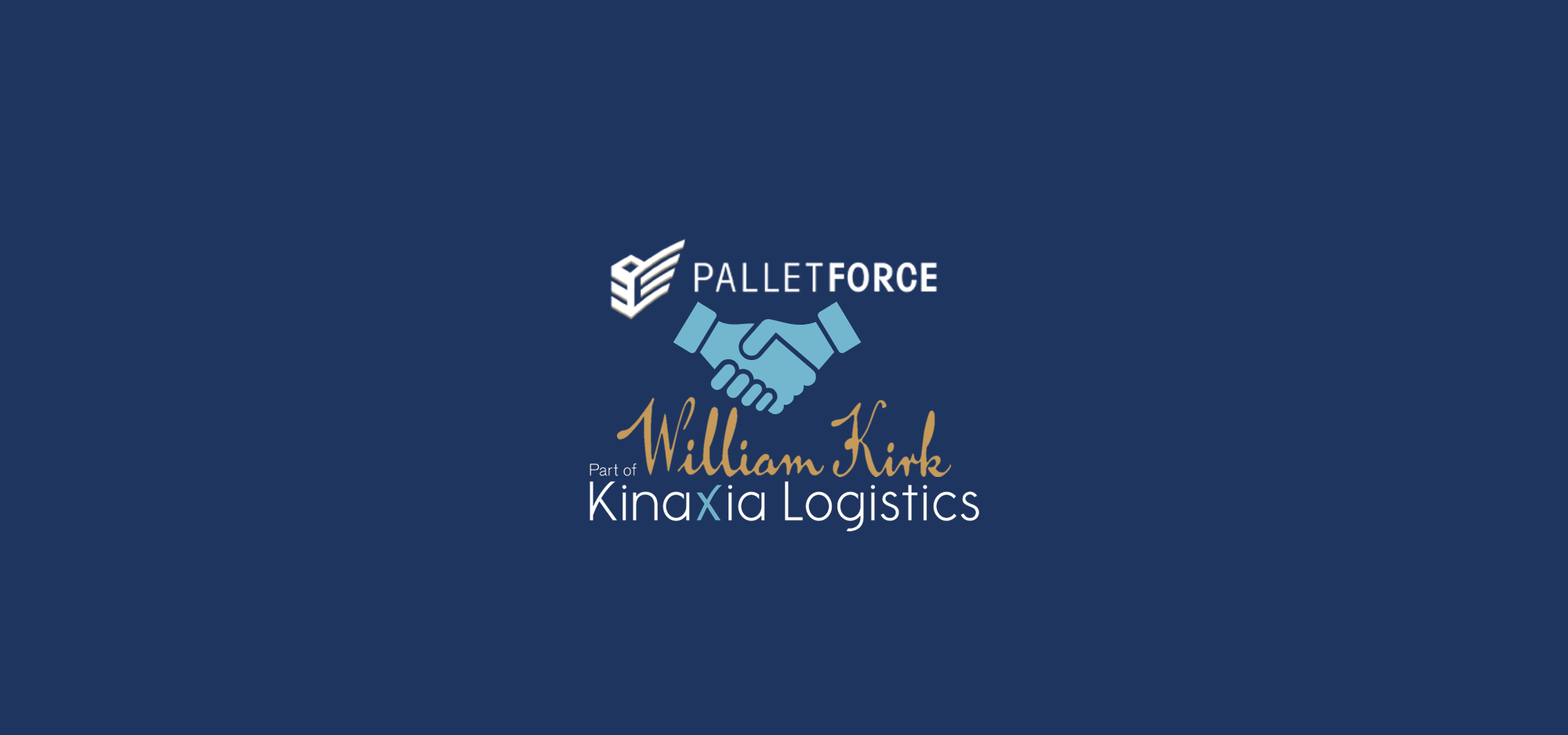 William Kirk completes journey from Palletline to Palletforce