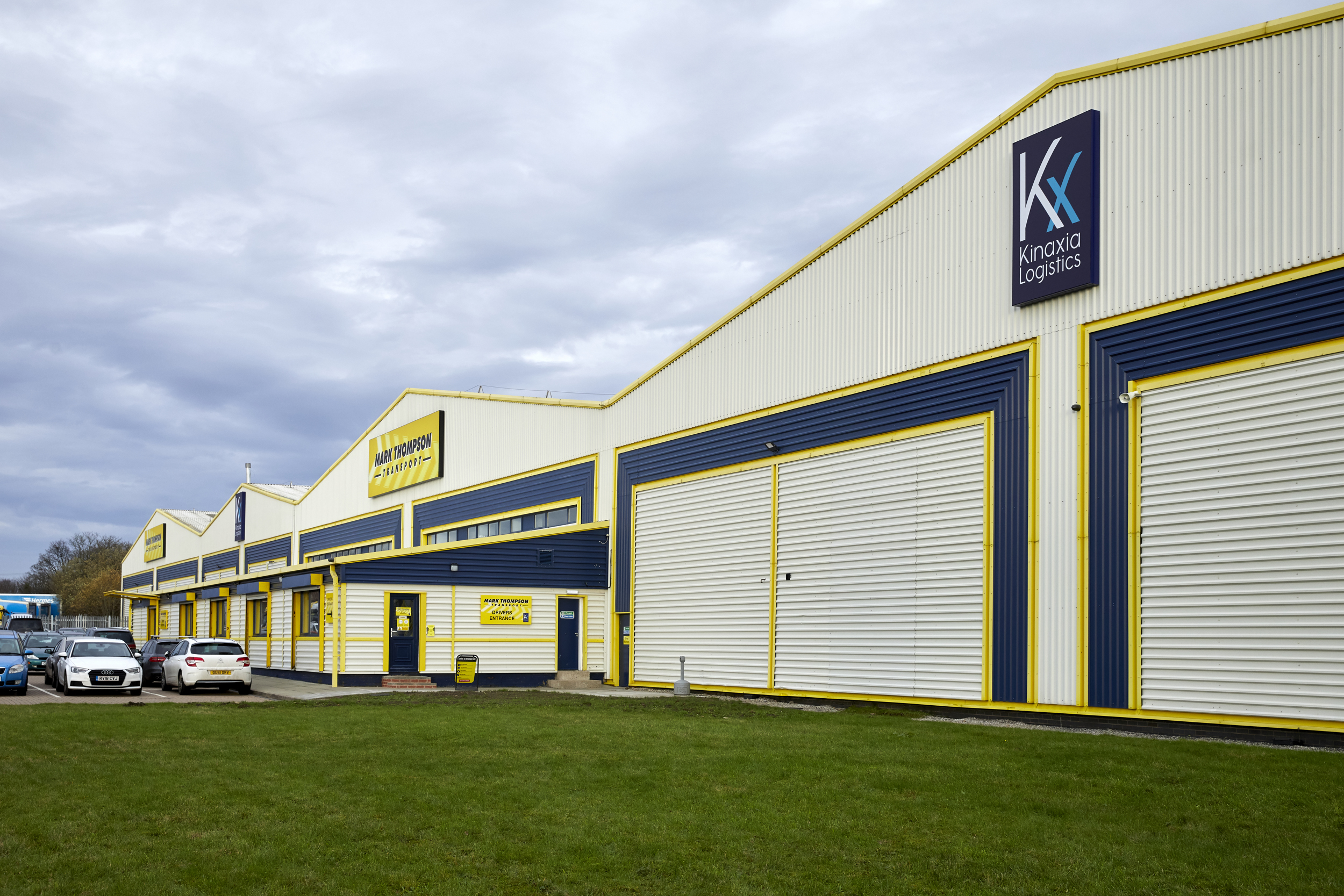NEW 110,000 SQ FT PREMISES 'A STEP CHANGE' FOR MARK THOMPSON TRANSPORT