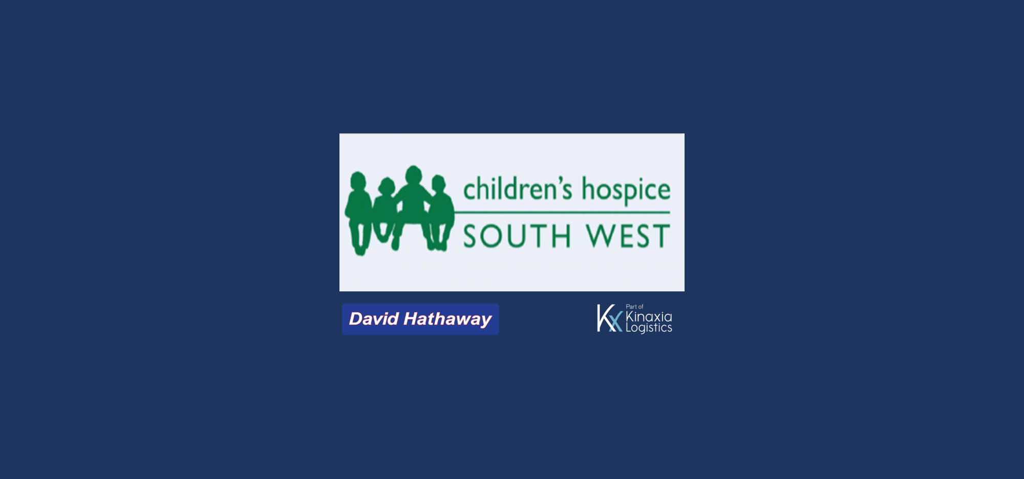 David Hathaway Supports Bristol Children's Hospice